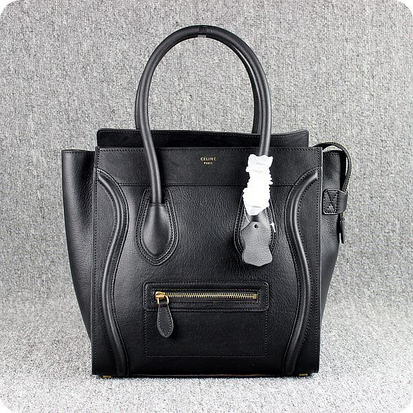 Celine Boston Black Smile Leather Bags | Style: Bags | Pinterest ...