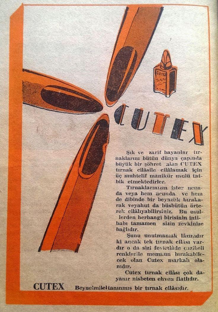 Cutex Tırnak Cilası