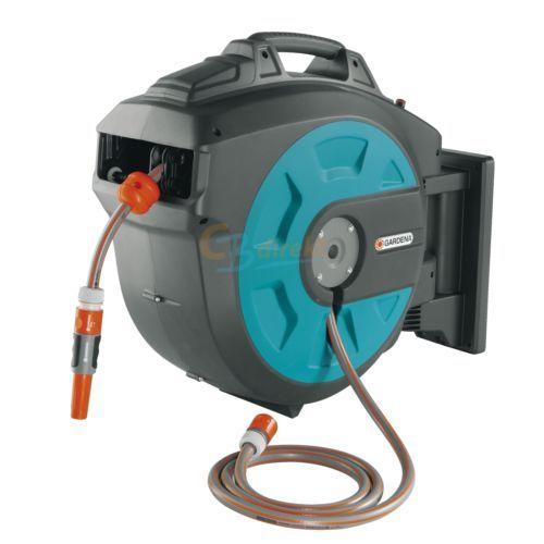 GARDENA-COMFORT-WAND-SCHLAUCHBOX-25-roll-up-automatic-8023-25M-SCHLAUCH
