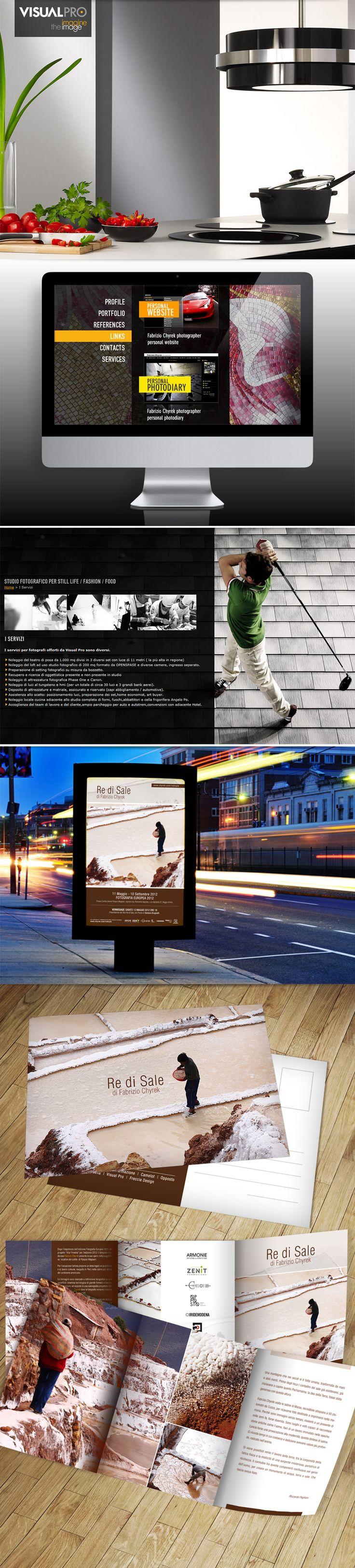 Visualpro - Fotografia. Un teatro di posa di 1000 mq. organizzato e pronto ad offrire le più aggiornate tecnologie digitali per progettare e produrre immagini uniche.  #graphicdesign #stampa #webdesign
