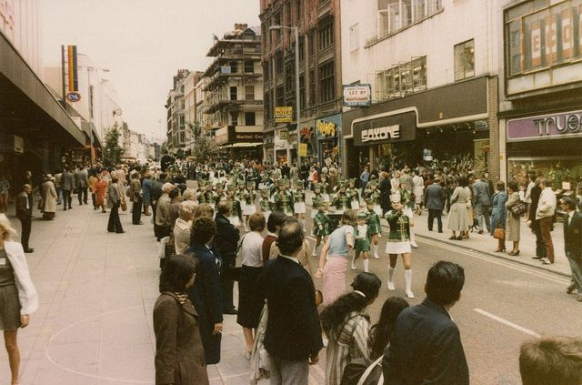 hmv Manchester Arndale store opening 1980s | Flickr - Photo Sharing!