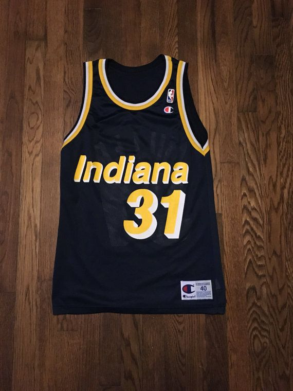 Reggie Miller 31 Indiana Pacers NBA Champion by ThePrivateStockCo