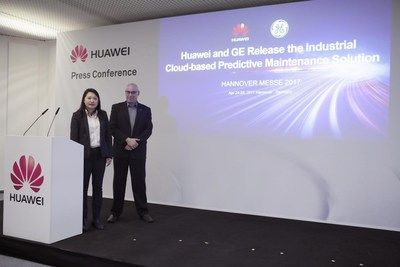 Huawei y GE lanzan una solución para mantenimiento predictivo industrial basado en la nube   La nueva solución reduce el tiempo inactivo no planificado de los bienes productivos y los costos por mantenimiento a la vez que mejora las innovaciones en productos y servicios.    HANNOVER Alemania Abril de 2017 /PRNewswire/ - En el marco de Hannover Messe 2017 la principal exposición industrial a nivel mundial Huawei una empresa proveedora líder global de soluciones de tecnología de la información…