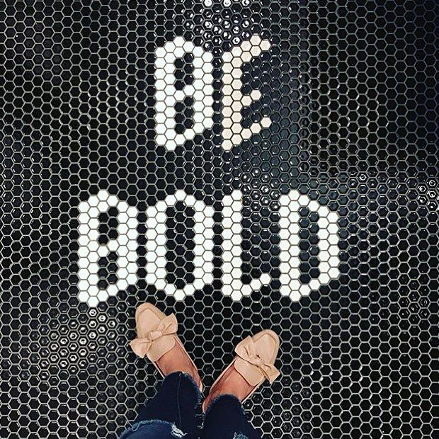 """5,346 Likes, 21 Comments - I Have This Thing With Floors (@ihavethisthingwithfloors) on Instagram: """"Be Bold!  Photo by @hello.drifter #ihavethisthingwithfloors #bebold #friday #weekend"""""""