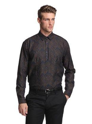 BG Men's Long Sleeve Juan Jacquard Shirt