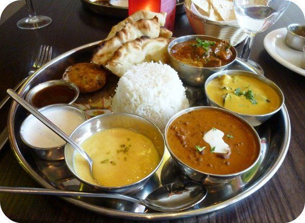 Indian Night: Delicious #Thali Selection is available for £9.95 on Thursday's. #Indian