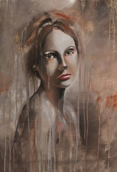 "Saatchi Art Artist Donatella Marraoni; Painting, ""Reminiscence"" #art"