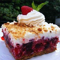 Raspberry Icebox Cake Allrecipes.com