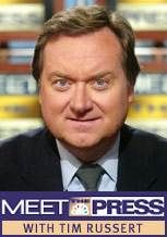 Tim Russert -- (5/7/1950-6/13/2008). American Television Journalist, Moderator & Lawyer. Best known for NBC's Meet the Press. He died from a Heart Attack, age 58.