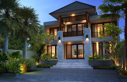 Kumpulan Desain Arsitektur Rumah Bali Untuk Rumah Hunian