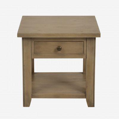Redcurrent Ash Blonde Bedside Table $395.00.