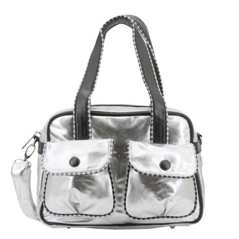 Zebra Trends Zilver Zwart Shopper (zilver) - Travelbags.nl