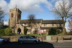 St Bartholomew's Church (Anglican), Colne, Lancashire, England - Christening place of Anne Parker (2 Nov 1701).
