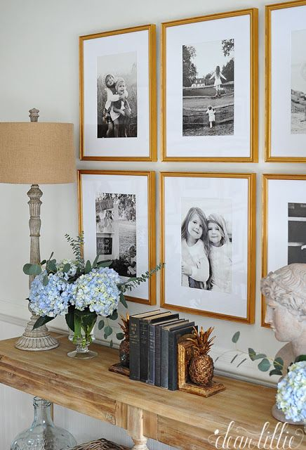 Dear Lillie: A Gallery Wall For Our New Entryway and Upstairs Hallway
