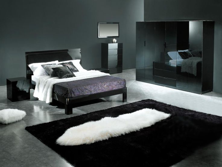 Black Bedroom Design: A Dramatic And Daring Choice