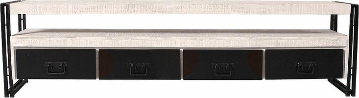 SIT TV-Lowboard »White Panama« im Used Look, Breite 200 cm Jetzt bestellen unter: https://moebel.ladendirekt.de/wohnzimmer/tv-hifi-moebel/tv-lowboards/?uid=154f1283-4916-5263-9b6f-3a7574e0fb5a&utm_source=pinterest&utm_medium=pin&utm_campaign=boards #tvlowboards #wohnzimmer #tvhifimoebel Bild Quelle: quelle.de