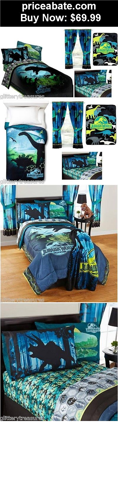 Kids-Bedding: KIDS GIRLS BOYS  JURASSIC WORLD DINOSAURS BED IN A BAG / COMFORTER SET- 2 PRINTS - BUY IT NOW ONLY $69.99