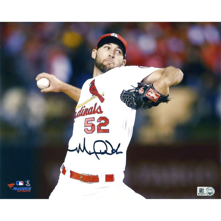 """Michael Wacha St. Louis Cardinals Fanatics Authentic Autographed 8"""" x 10"""" Ball In Hand Photograph - $99.99"""