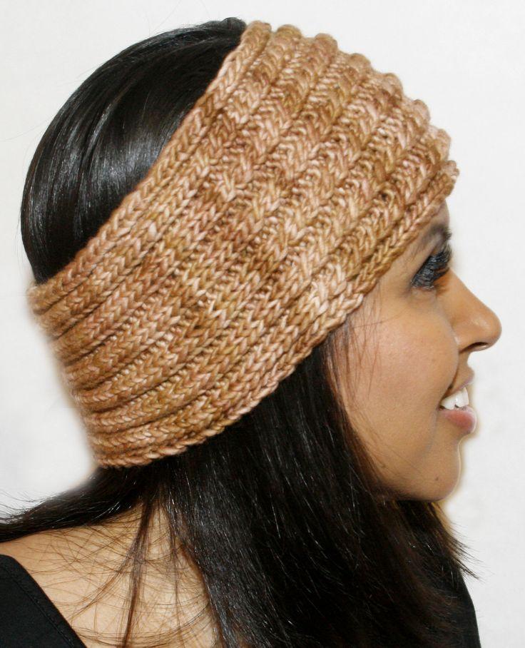 Twirls Headband Free Pattern
