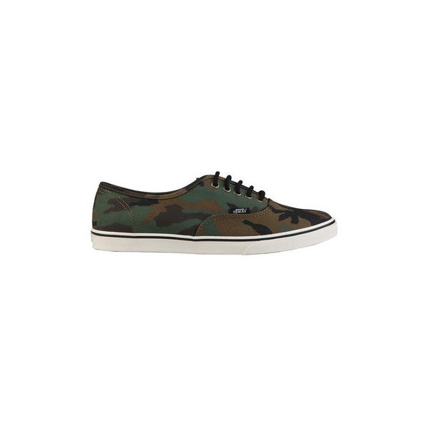 Vans VansAUTHENTICLOPRO_1VT9NA Shoes (Trainers) (£40) ❤ liked on Polyvore featuring shoes, sneakers, green, trainers, women, green sneakers, vans footwear, vans sneakers, green shoes and vans trainers