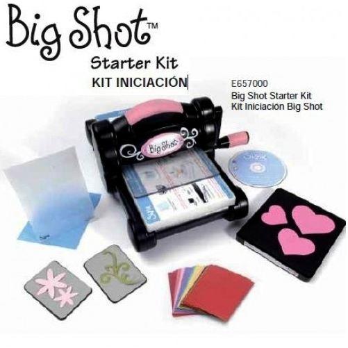 Sizzix Big Shot máquina con Kit iniciación Starter Kit  98,77€