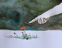 Watercolor Drawings by olaru ionut robert, via Behance