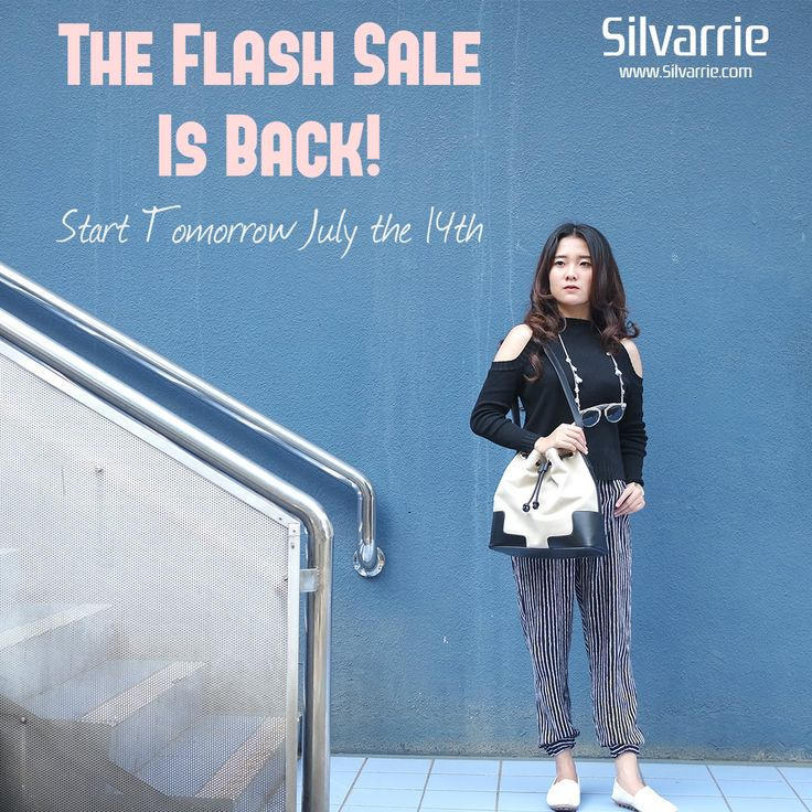 Watch out! Silvarrie's Flash Sale is Back! Clearance start form IDR.100,000/Up to 80% Off!  Tomorrow 14 July 2017, Don't miss it! . . . #shopping #sale #flashsale #Friday #fashionblogger #fashionista #ootd #styleblogger #stylegram #promotion #musthave #stylish #fashion #Bags #Discount #setcantik #fbsale #forsale