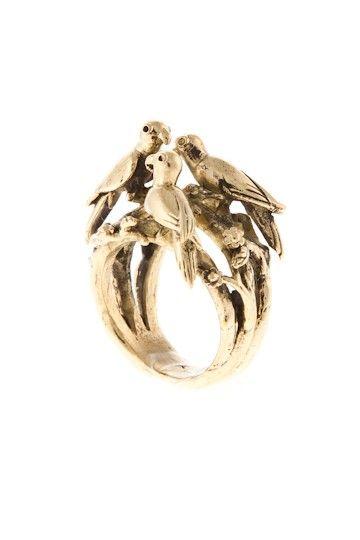 RangNok - JohannaN #nordicdesigncollective #johannan #rangnok #ring #bird #jewellry