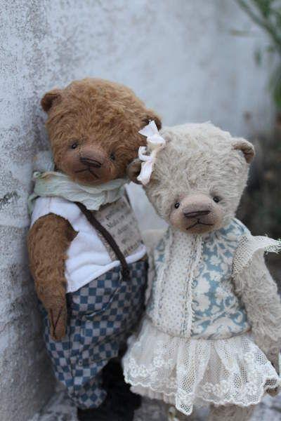 Maximilian and Leia by By Moshkina Elena | Bear Pile