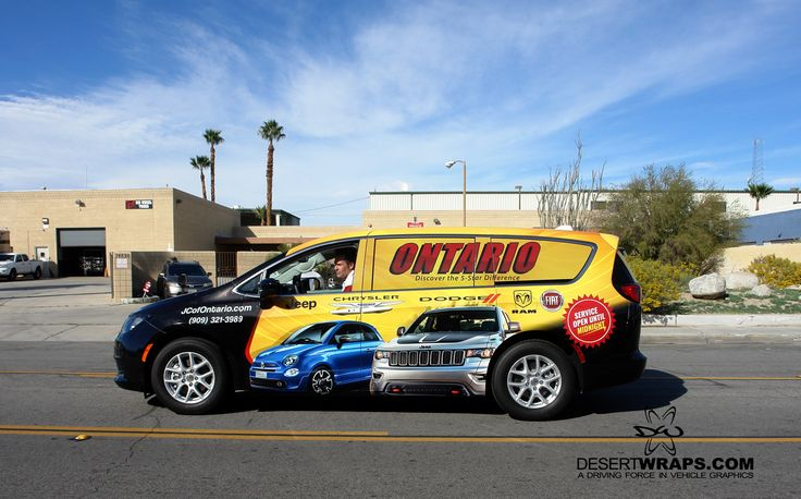Check out this wrap we recently finished for Ontario Jeep Chrysler Dodge Ram Fiat.@JCDRFofOntario