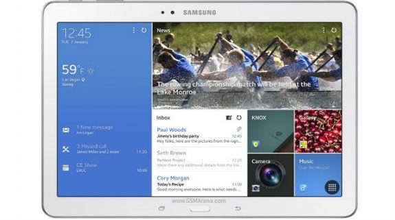 Samsung Galaxy TabPRO 10.1: Utilizzato un display PenTile LCD