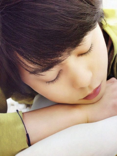 寝顔すらカッコイイ桜井翔くん。