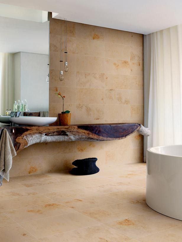 The Latest Bathroom Tile Trends : Home_improvement : DIY