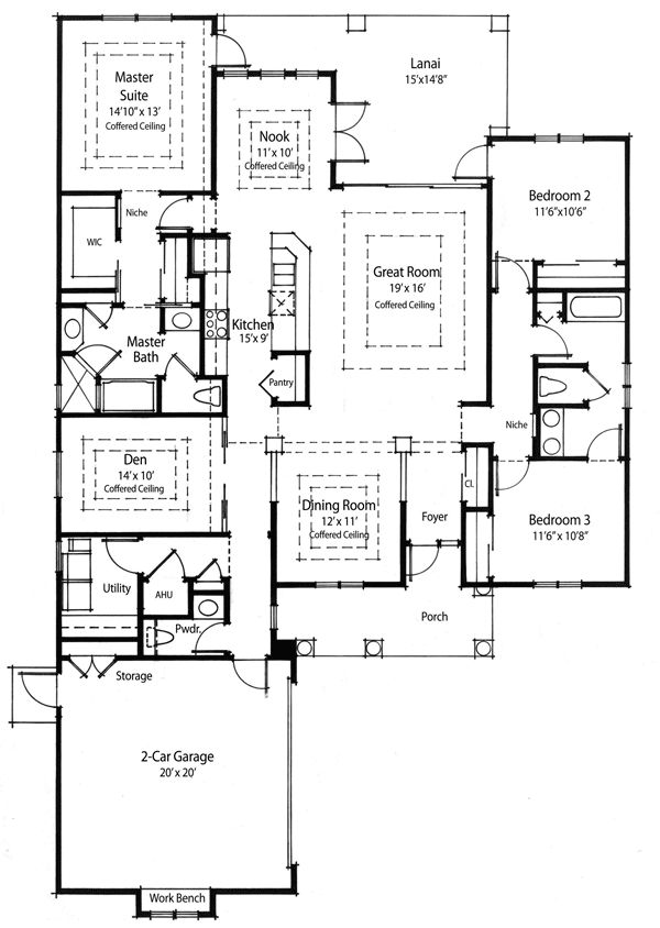 Plan 33019zr super energy efficient house plan house for Super insulated house plans