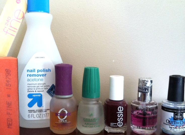 how to dispose of acetone after doing nails