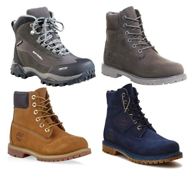 """Waterproof Boots Ideas"" by upperlftculture on Polyvore featuring Timberland, Baffin, Boots, shoes, adventure, Hiking and PNW"