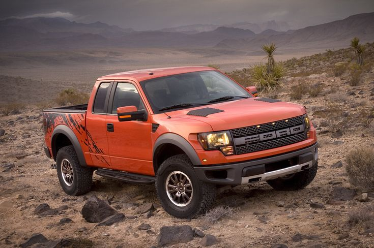 Ford Red SVT F-150 Raptors Cancun Yucutan sand