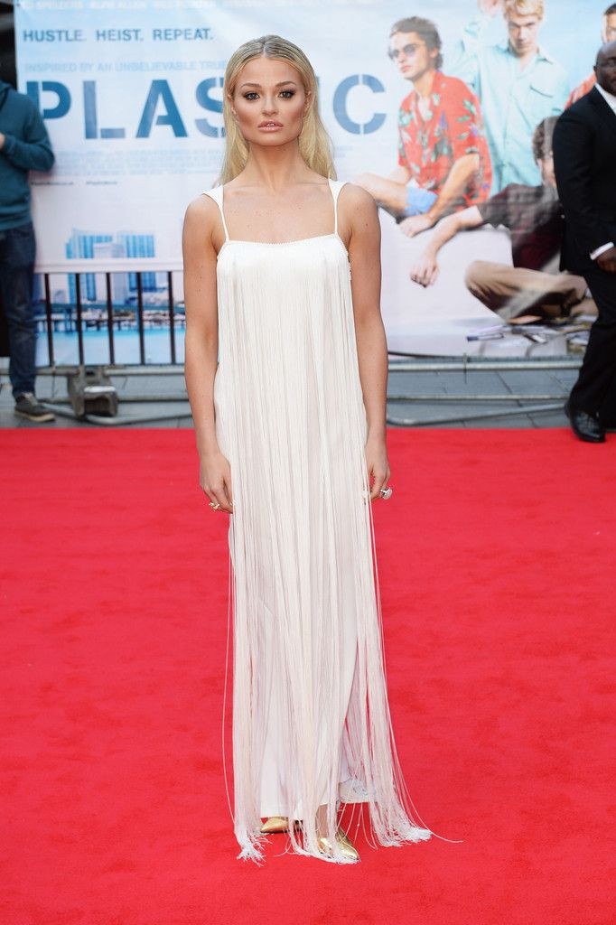 Fabulously Spotted: Emma Rigby Wearing Tom Ford - 'Plastic' London Premiere  - http://www.becauseiamfabulous.com/2014/04/emma-rigby-wearing-tom-ford-plastic-london-premiere/