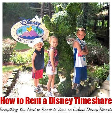 How to Rent a Disney Timeshare (from It's ALL Good in Mommyhood)