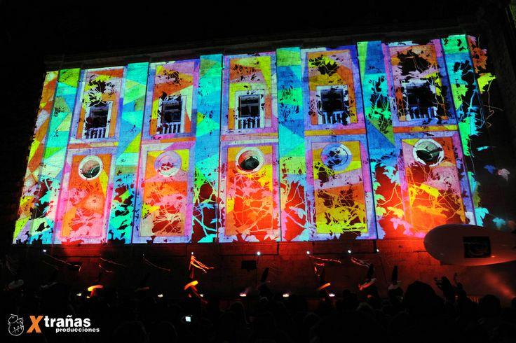 Espectáculo Multimedia La Reconciliación. Catedral de Valladolid