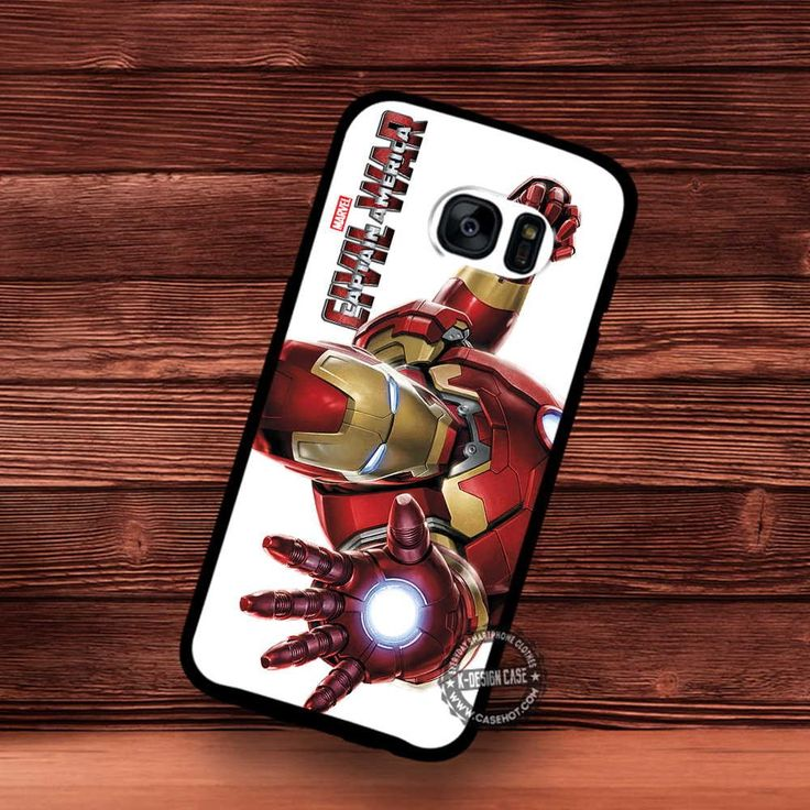 Iron Man Civil War Captain America Movie Superhero - Samsung Galaxy S7 S6 S5 Note 7 Cases & Covers