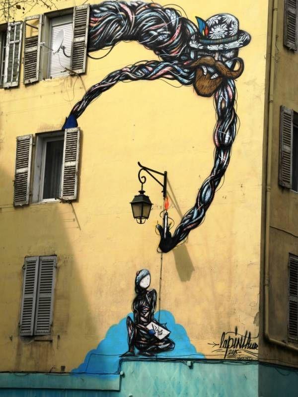 327 best street art images on pinterest 3d street art for Funky house artists