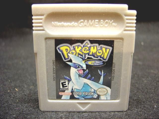 #gameboy pokemon silver version new battery saves game color advance sp gba from $27.0