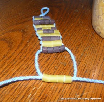 Week 4: Native Americans Make a Wampum belt.