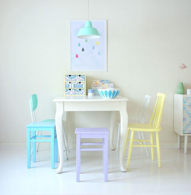 Anna Weinreich: Colour, Decor, Interior, Dining Room, Idea, Sweet, Color