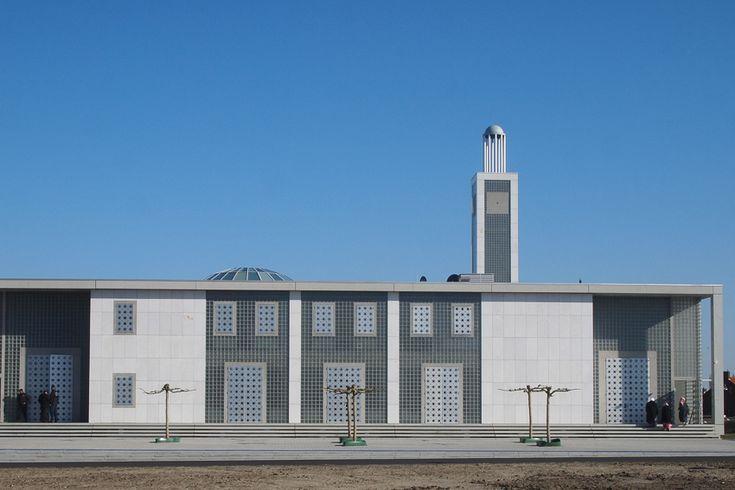 Gerard Rijnsdorp ontwerpt Moskee Willem de Zwijgerlaan Leiden  Islamitisch Centrum Imam Malik