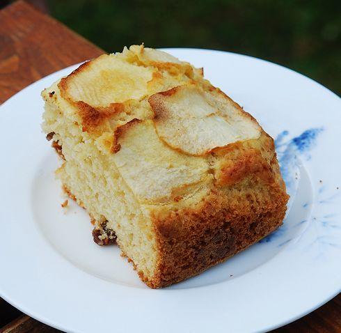 Яблочный кекс из яблочного пюре - Раня
