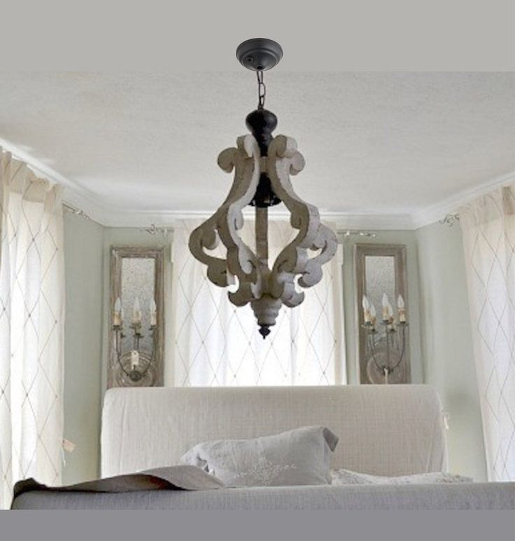 made from wood with a white painted and distressed finish this chandelier is unique for amelie distressed chandelier perfect lighting
