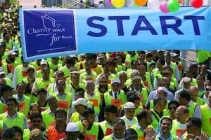 Ahmadiyya Muslims from Waltham Forest will take part in a charity march this weekend