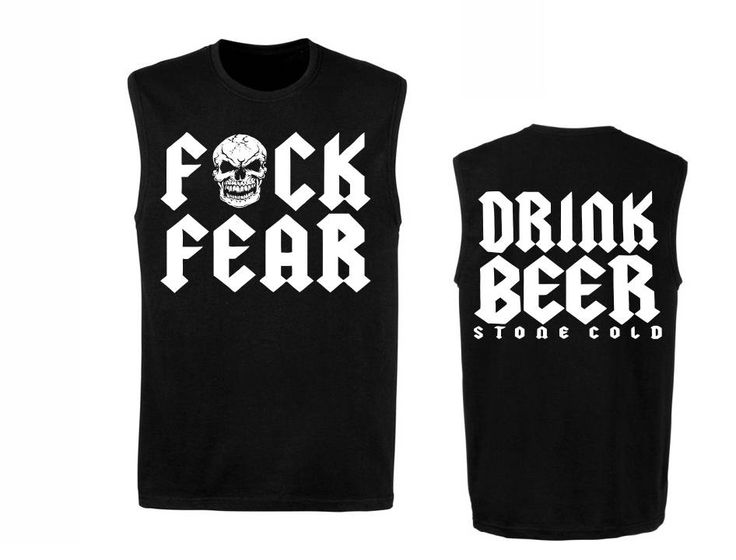 Stone Cold Steve Austin Drink Beer F Fear Sleeveless Muscle T-shirt by BigBOSSTees on Etsy